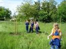 26.05.2006 Unterstützung des BUND bei Teichrekultivierung :: oekogarten_27