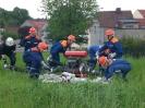 08.05.2009 Ausbildung :: Üben für Wettkampf Löschangriff