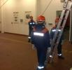 27.02.2009 Ausbildung :: Ausbildung Herablassen einer Trage